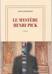 Le mystère Henri Pick - David Foenkinos