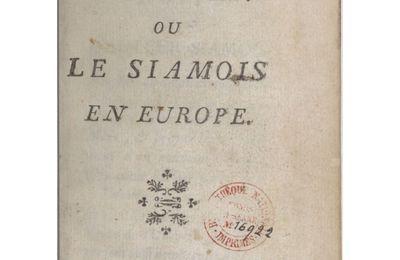 A 229 - UN ESPION SIAMOIS A PARIS EN 1751