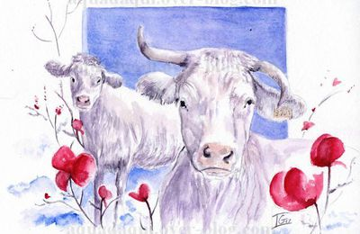 quand la vache... rit