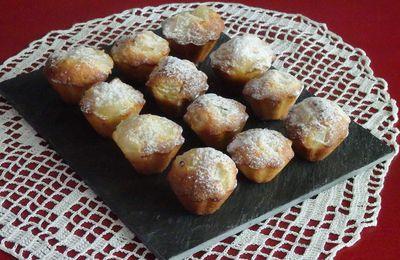 Muffins façon amandines aux poires