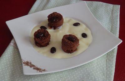 Bouchon moelleux au chocolat et aux noix