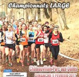 ½ finale championnat de France de cross 2017