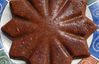 Gâteau fondand au chocolat et à la patate douce