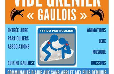 1er vide grenier Gaulois!