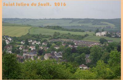 Saint-Julien du Sault. Yonne. 2016