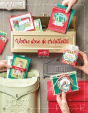 Porte ouverte nouveau catalogue de noël chez Stampin Up et atelier gratuit