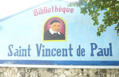 INAUGURATION DE LA BIBLIOTHEQUE SAINT-VINCENT-DE-PAUL A THOMASSIN