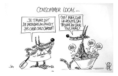 Consommer local...