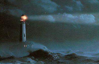 Un phare dans la nuit