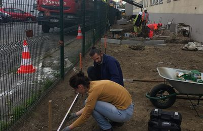 CHANTIER PARTICIPATIF AU JARDIN FAURE 'MIDABLE - MERCREDI 4 OCTOBRE 2017