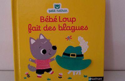 Bébé Loup fait des blagues - Editions Nathan