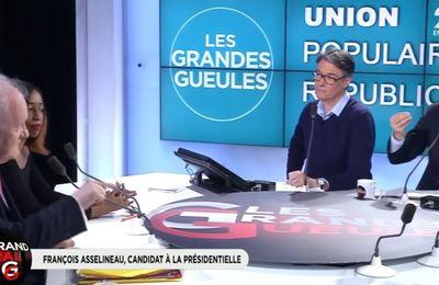 François ASSELINEAU : « grande gueule » sur la radio RMC