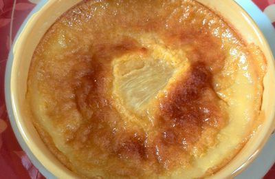 Flan d'ananas tropical