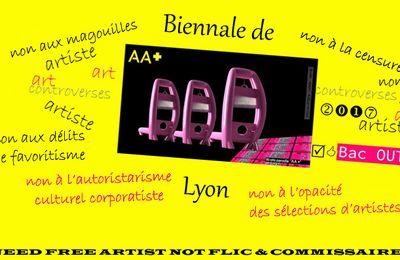 Biennale de Lyon 2017 Bac Out