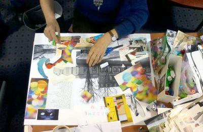 Atelier Collage et jeux d'écriture