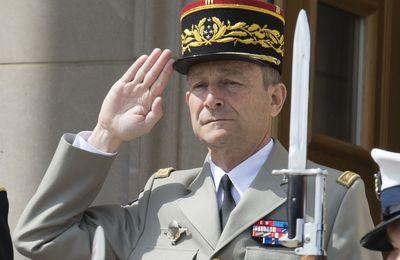 Le général d'armée Pierre de VILLIERS,  Chef d'Etat Major des Armées, a démissionné