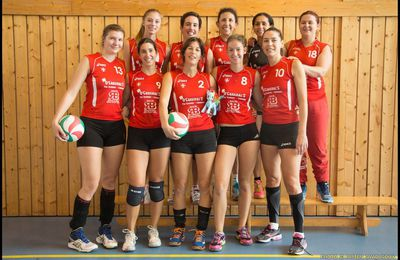 VOLLEY BALL - les féminines de Chambéry en Nationale 3 !