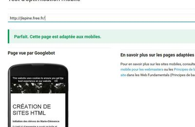optimisation mobile