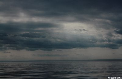 Ciel orageux  sur la baie de Tadoussac