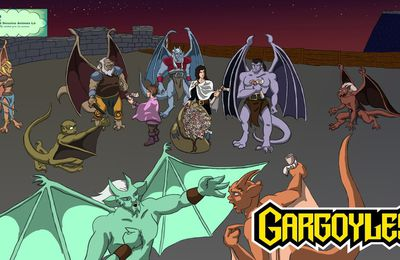 Review n°64 - Gargoyles, les anges de la nuit