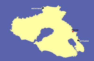 Lesbos 09 : Thermi. Vendredi 6 juin 2014