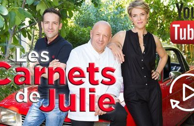 Replay: Les Carnets de Julie, revoir les émissions en streaming sur Youtube