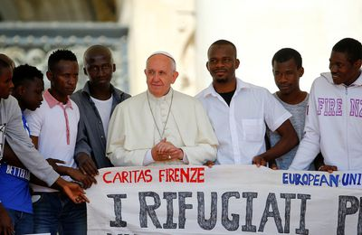 Migrants : le pape veut le regroupement familial sans conditions