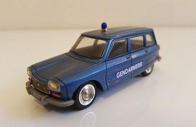Collector : Citroën AMI 8 Gendarmerie au 1:43