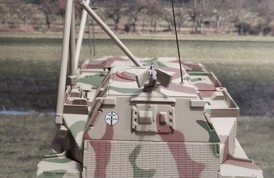 Bergepanzer Tiger (P) au 1:43 (Altaya/Ixo)