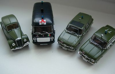 Les miniatures Carabinieri de Bob (Collection-presse De Agsotini)