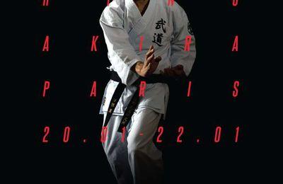 Hino senseï à Paris, 20 au 22 janvier