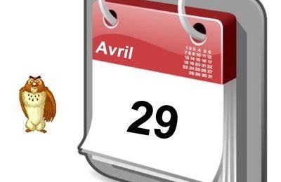 Personnalités nées un 29 Avril