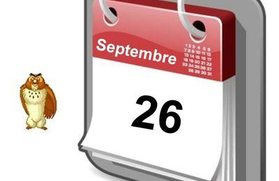 C'est arrivé un 26 Septembre