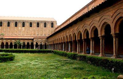 Sicile - Cathédrale de Monreale - Jardins