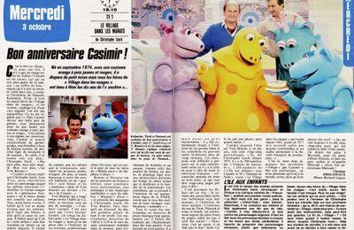 Bon Anniversaire Casimir ! (septembre 1984)
