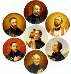 Les 8 martyrs du Canada