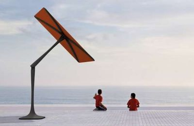 Le parasol intelligent ShadeCraft par SunFlower