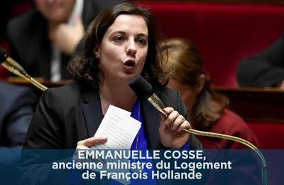 Emmanuelle Cosse accuse le gouvernement actuel de mensonge sur taxe de 5 euros sur APL