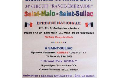 "34ème Circuit "" Rance - Emeraude """