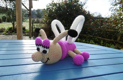 Abeille, Doudou au crochet