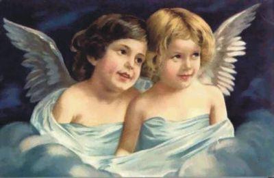 nos saints anges, priez pour nous.