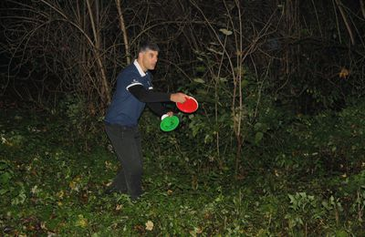 Mehdi, champion d'Europe de disc golf