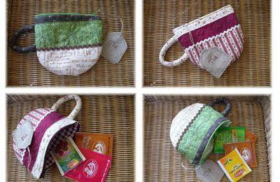 pochette à thé de sac à main