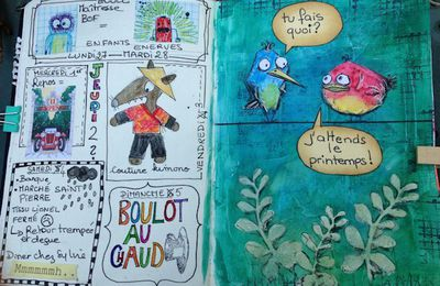 art journal ......mars et avril 2017