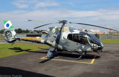 Eurocopter EC-130B-4 (AS-350B-4) - Polícia Militar do Estado Paraná - Grupamento Aeropolicial-Resgate Aéreo (GRAER) - Splinter sheme