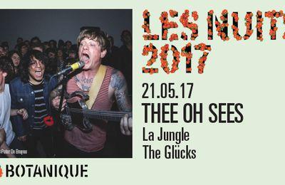 Les Nuits Botanique - Thee Oh Sees, La Jungle sous Chapiteau, Bruxelles, le 21 mai 2017.