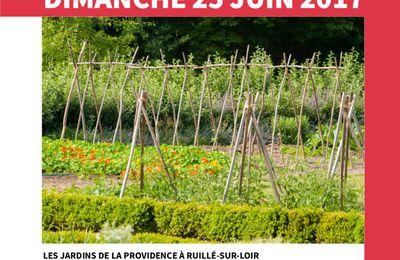 Ouverture des jardins en vallée du Loir