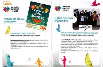 """Un grand honneur pour l'association """"Histoire et Patrimoine"""" de Saint-Christophe-sur-le-Nais"""