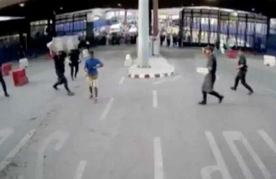 España:  embestidas y la simbología de la agresión con cuchillo en Melilla
