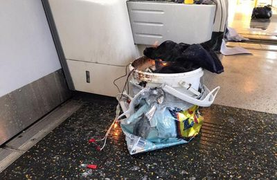 Simbología del  atentado en   el metro de Londres: Parsons Green